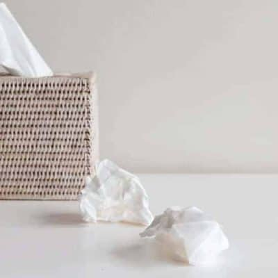 an image of a box of tissues with text reading 10 Ways God is at Work in Tragedies