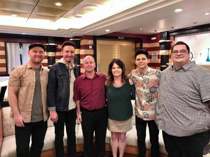 Sidewalk Prophets, my Husband & I