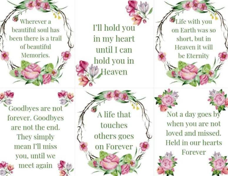Scripture Cards on Loss 3