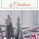 an image of a christmas wreath with text reading Come Adore Him: The Simple Meaning of Christmas