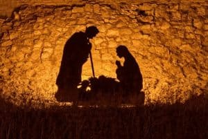 an image of the stable of jesus birth featured image for Come Adore Him: The Simple Meaning of Christmas
