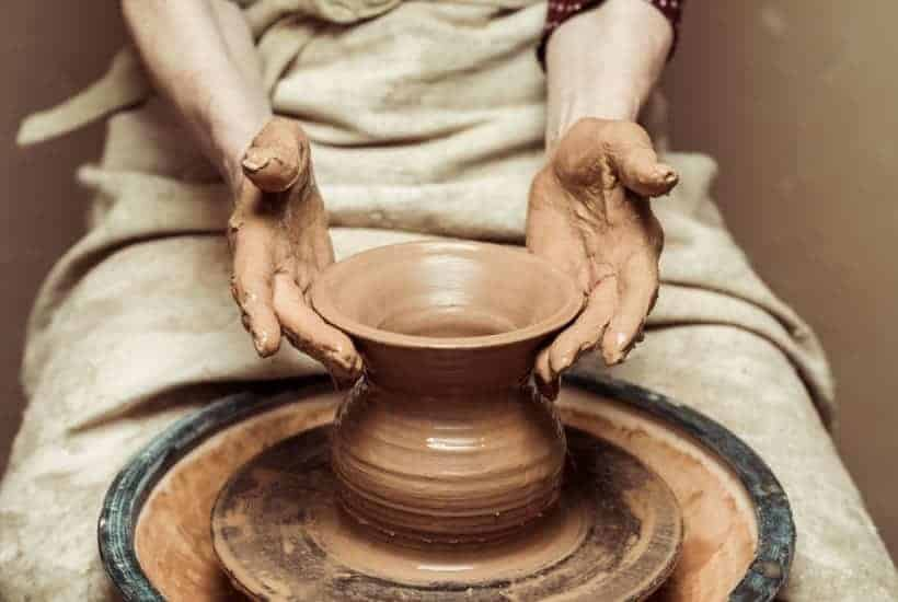 Spiritual Growth  Molded by the Hands of the Potter