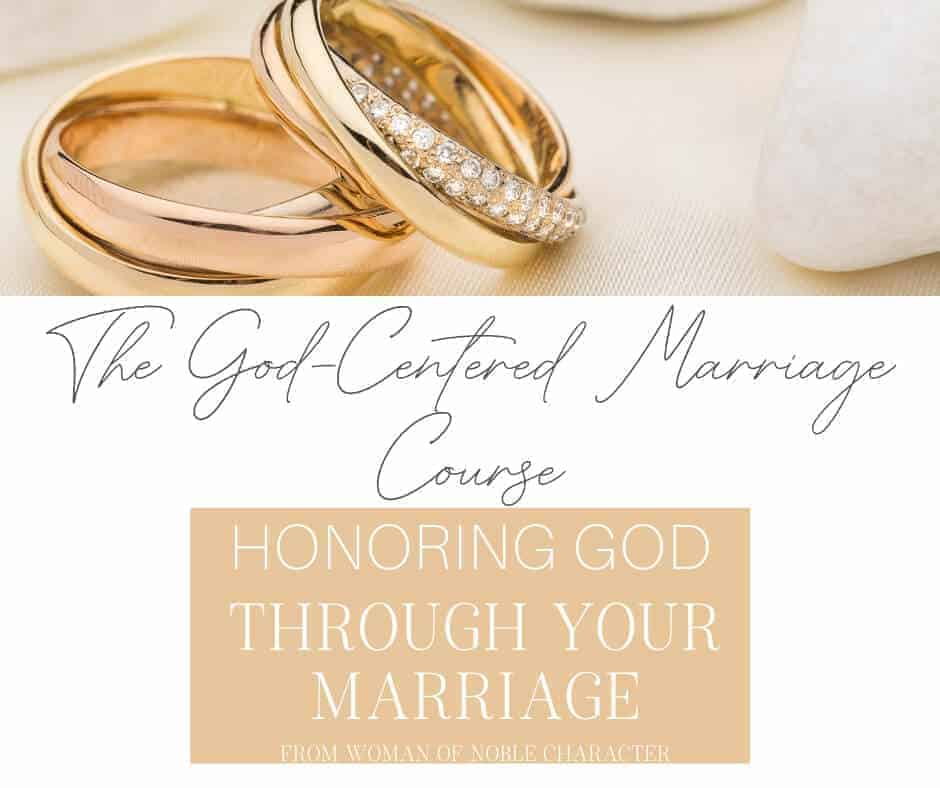 The God-Centered Marriage