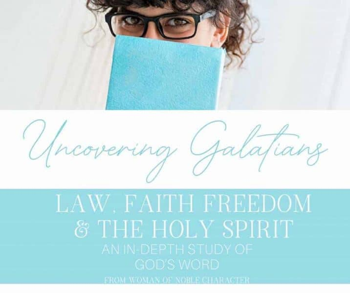 Uncovering Galatians_ Law, Faith, Freedom and the Holy Spirit!