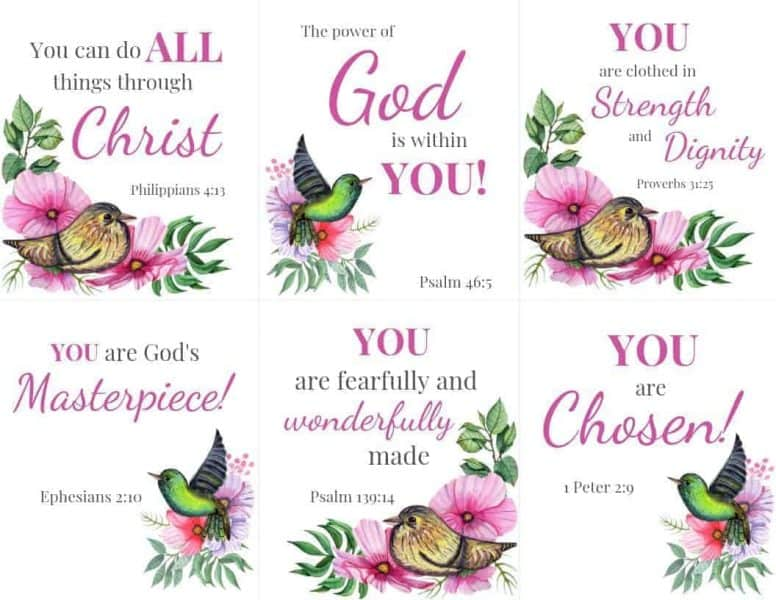 Printable Scripture Cards 1