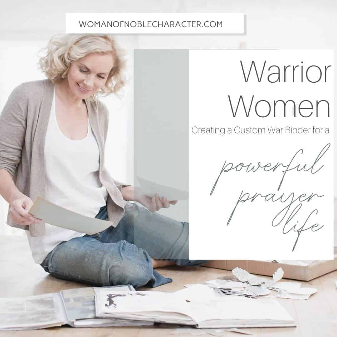 Warrior Women Creating a Custom War Binder