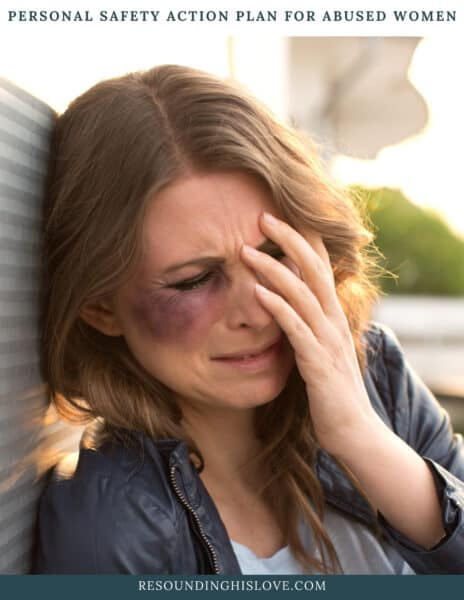 Personal Safety Action Plan for Abused Women