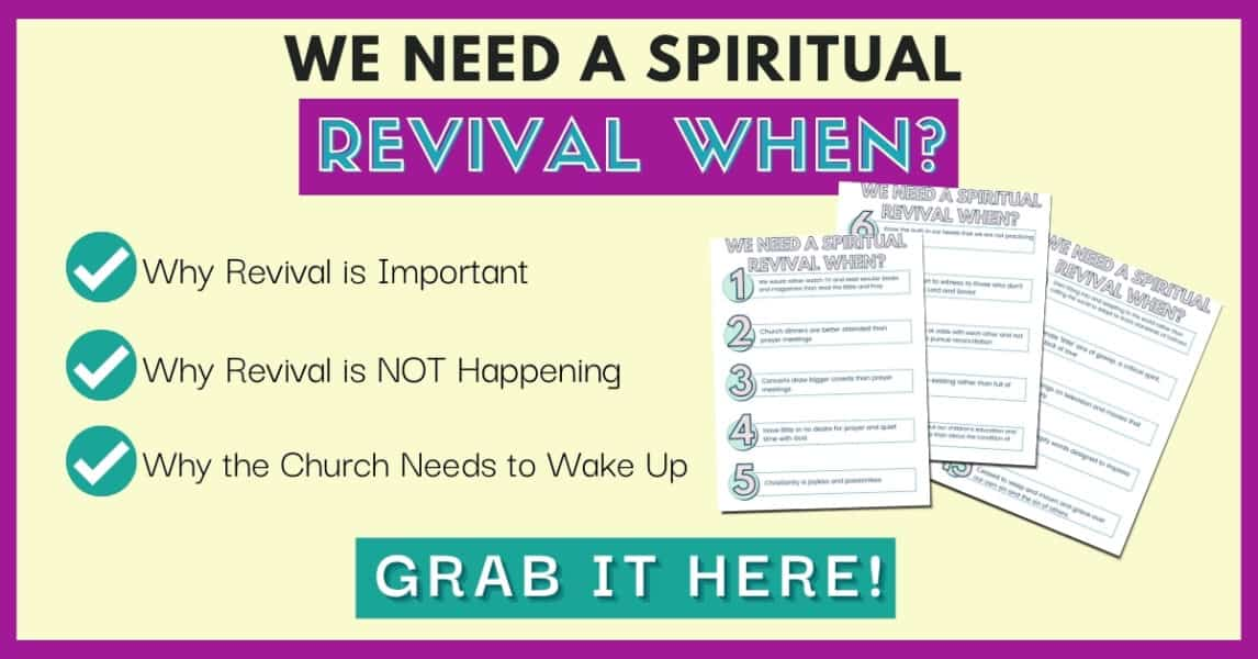 15 Tips Why We Need Spiritual Revival Guide